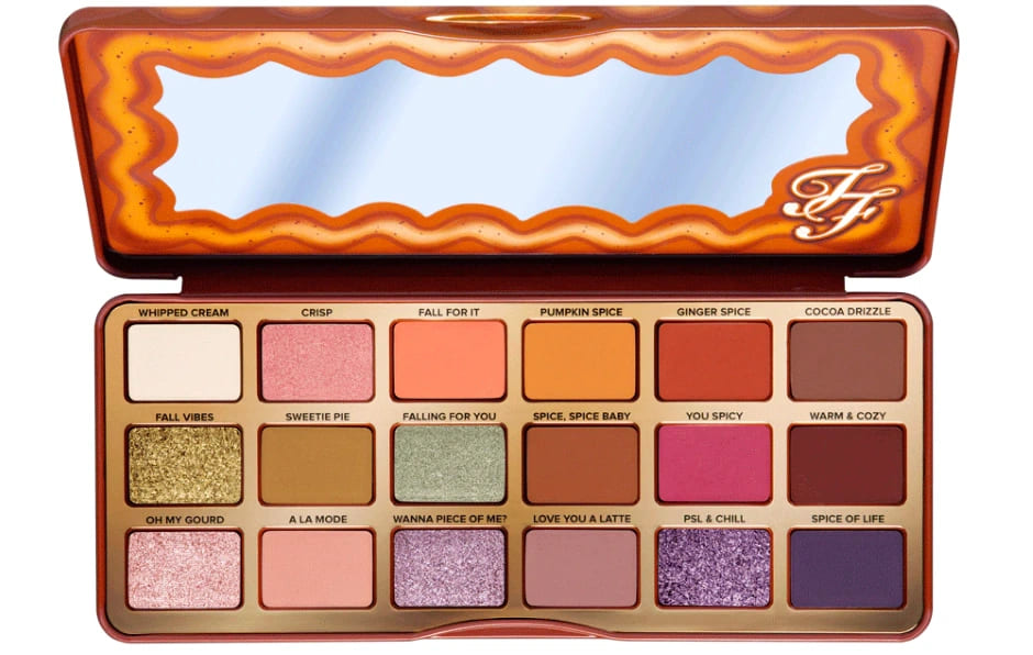Palette ombretti Too Faced Autunno