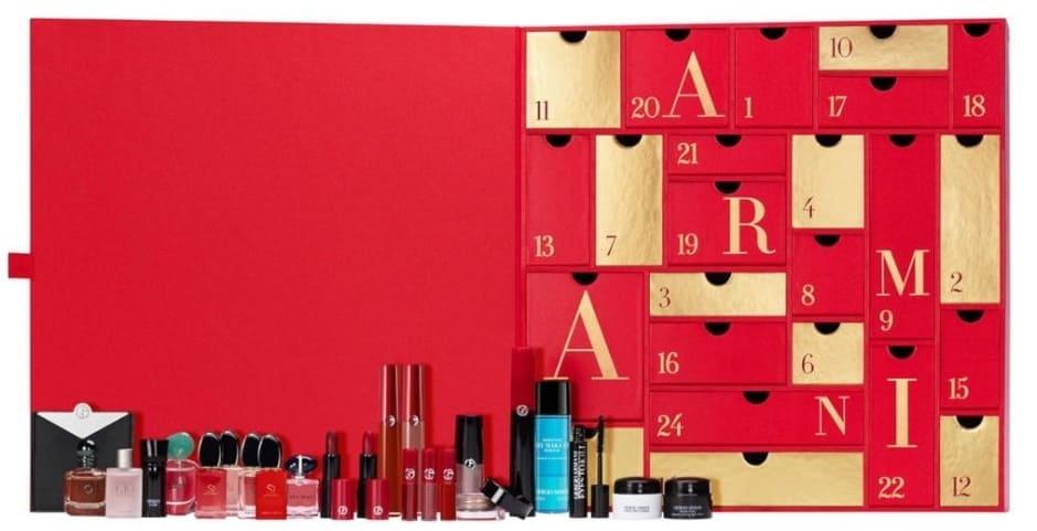 Calendari Avvento Beauty Natale 2020 Giorgio Armani