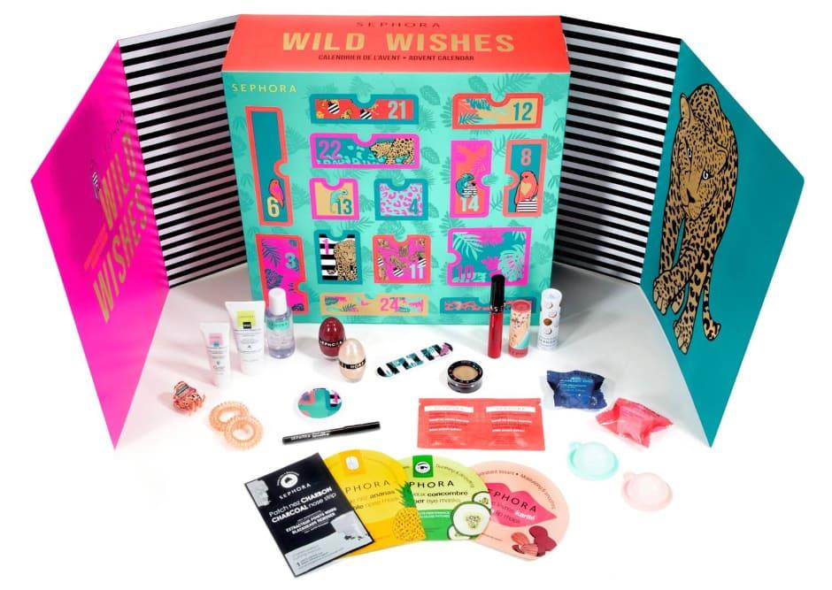 Calendario dell'Avvento Sephora 2020 Wild Wishes