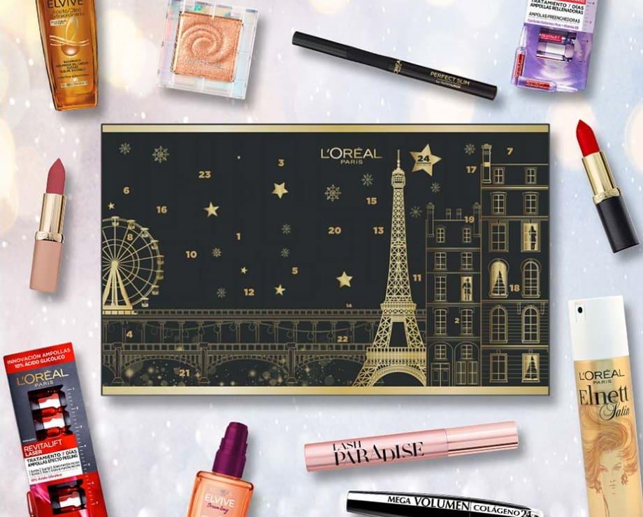Calendario Avvento trucchi L'Oréal