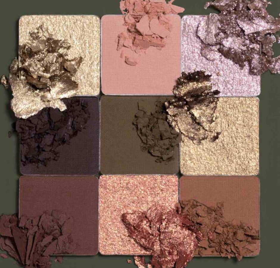Huda Beauty Khaki Palette