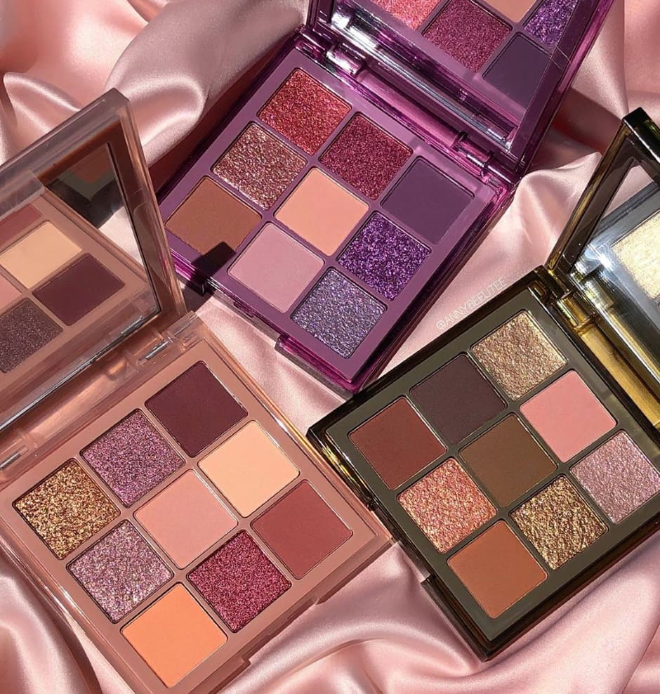 Nuove palette Huda Beauty Autunno 2020