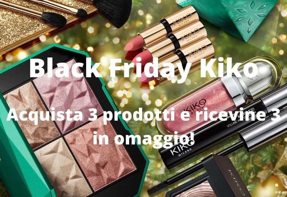 Black Friday Kiko make-up 2020