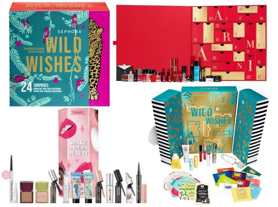 Calendari Avvento Beauty scontati Sephora