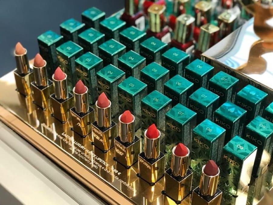 Kiko Holiday Gems rossetti matte Luxury