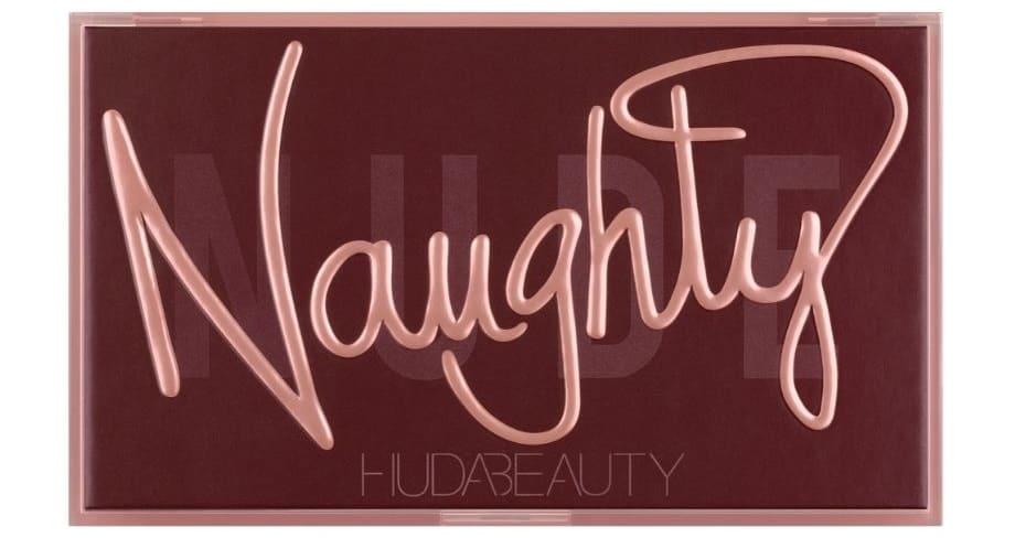 Naughty Nude palette Huda