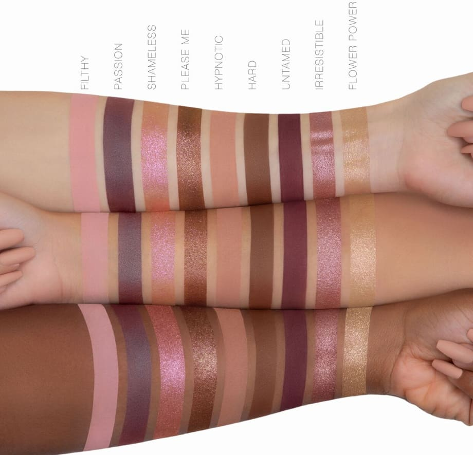 Naughty Nude Palette - Swatches ufficiali