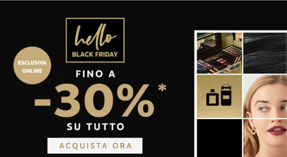 Sconti Beauty Black Friday Marionnaud