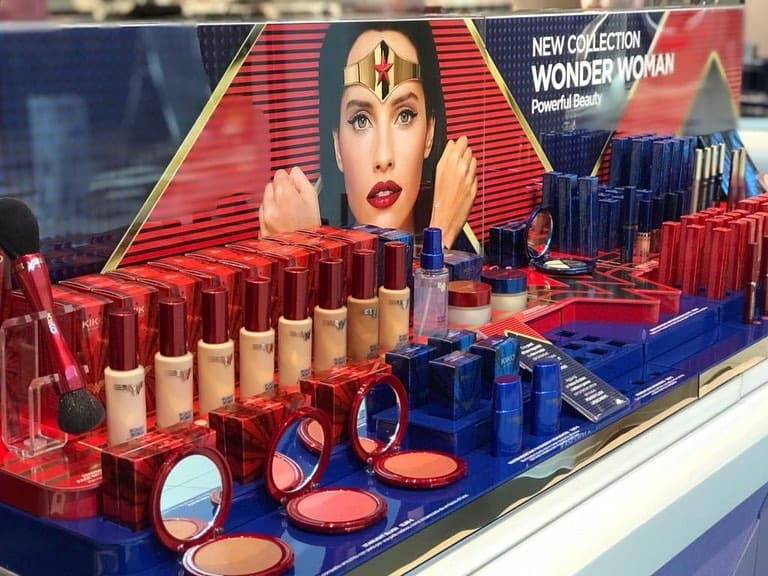 Wonder Woman Kiko nuova collezione trucco