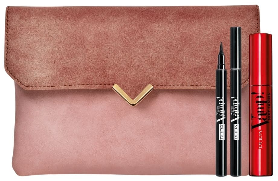 Clutch Pupa Natale 2020 set make-up