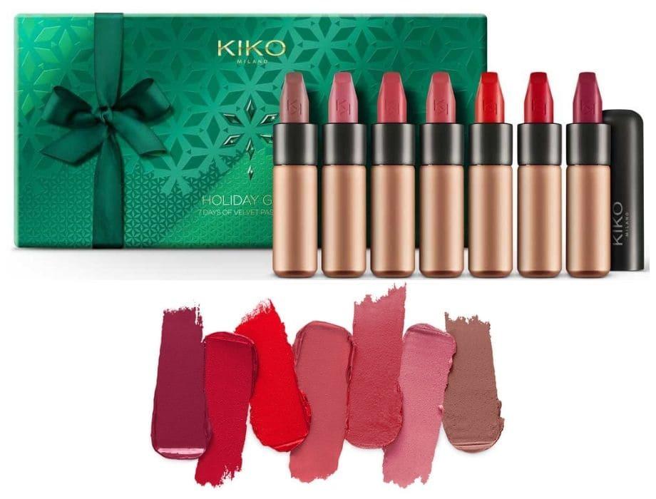 Idee regalo Kiko cofanetto rossetti