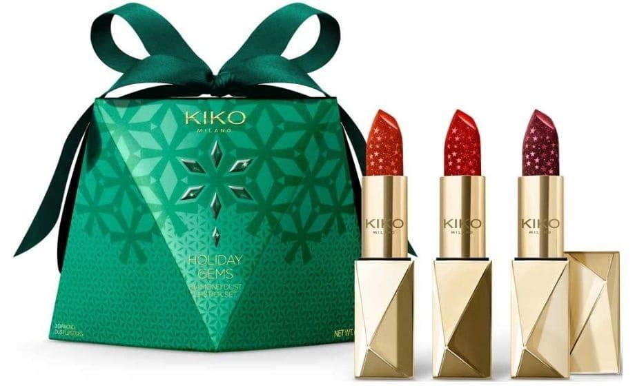 Kit regalo rossetti Kiko Diamond Dust