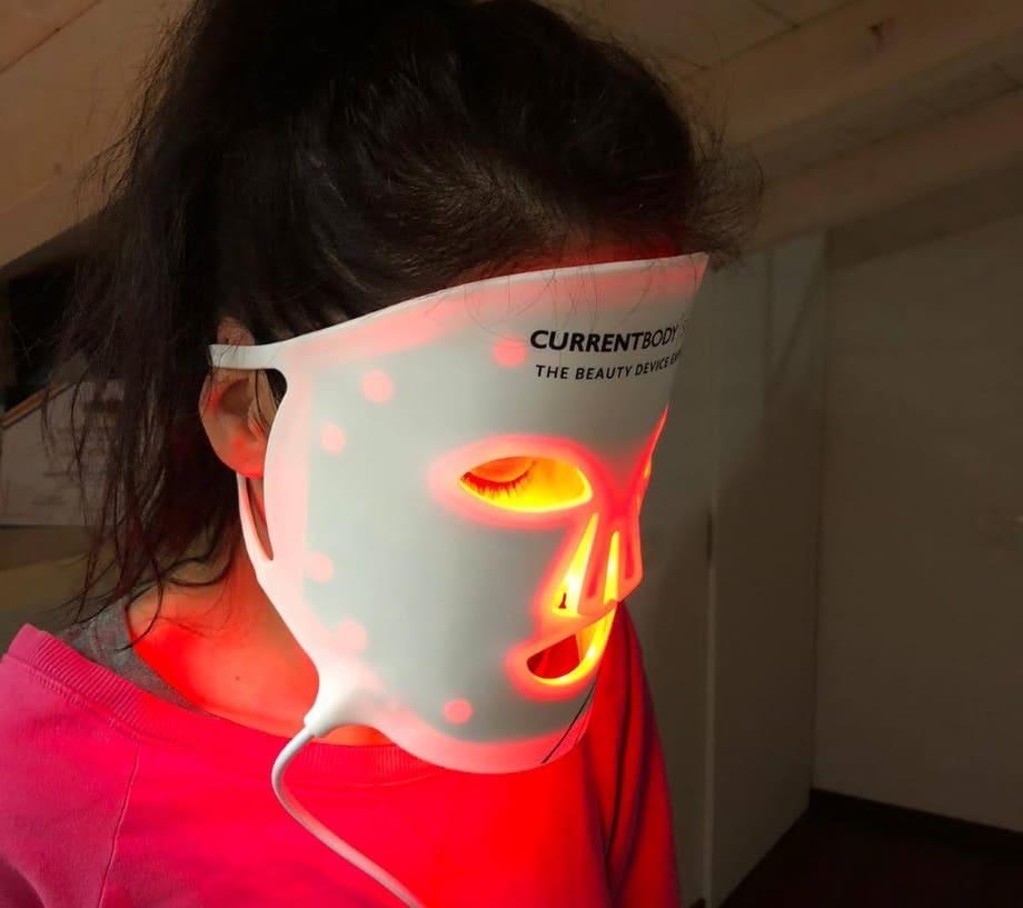Maschera a LED antirughe come funziona