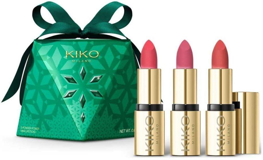 Mini Lipstick Kiko Set Regalo