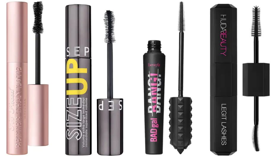 Offerte mascara e make-up occhi Black Week