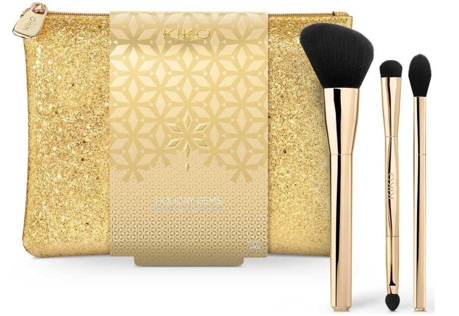 Pochette pennelli Kiko Make-Up Natale 2020