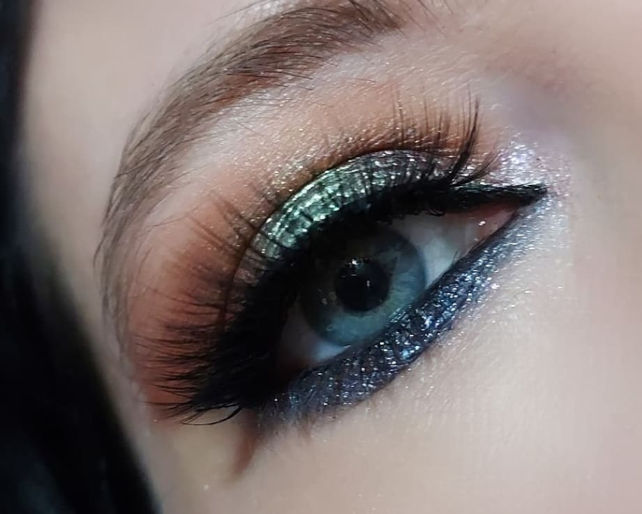 Stoned Vibes make-up look