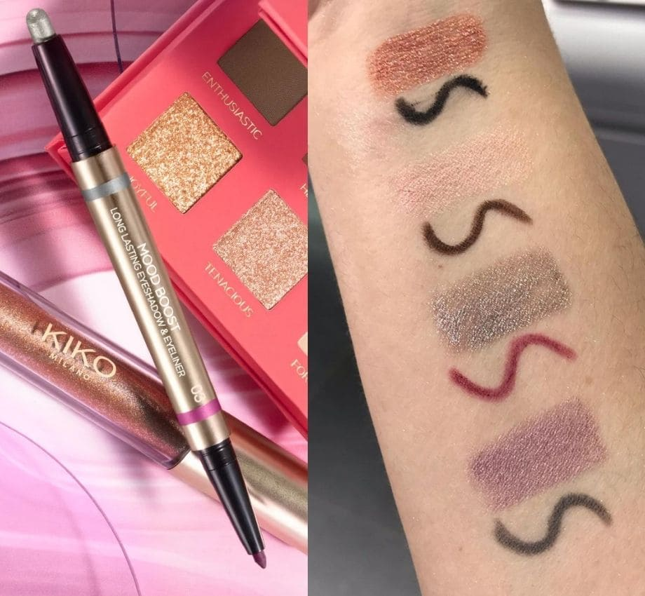 Long Lasting Eyeshadow & Eyeliner Kiko Primavera