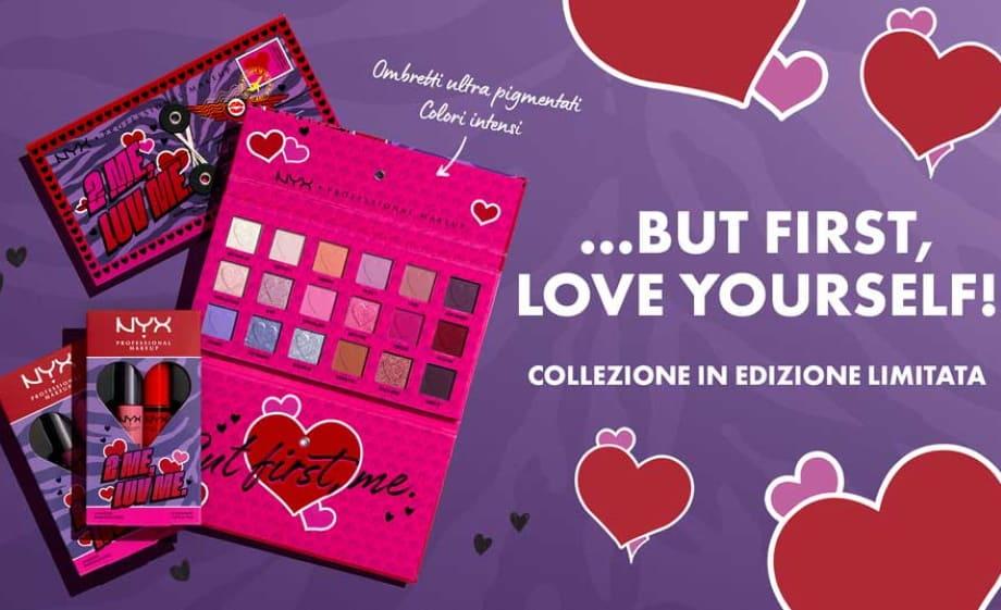 NYX San Valentino collezione make-up