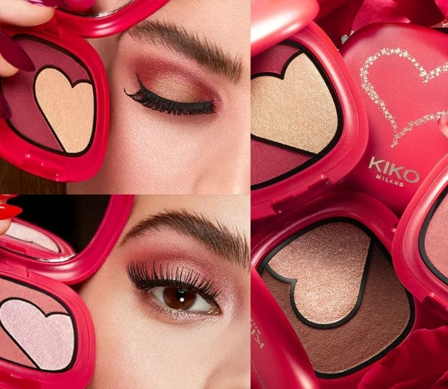 Palette occhi Kiko Ray Of Love