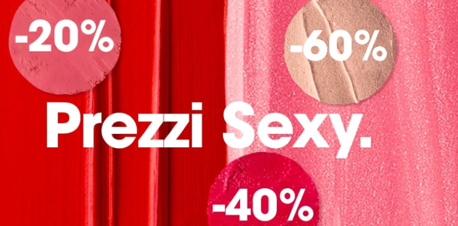 Prezzi Sexy Sephora sconti 2021
