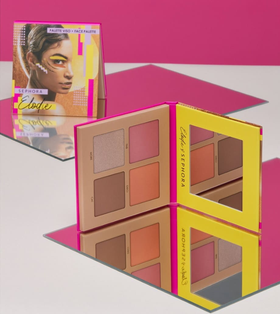 Trucco Sephora Collection Elodie Palette viso