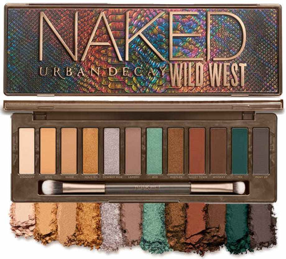 Nuova Naked Palette Wild West Urban Decay