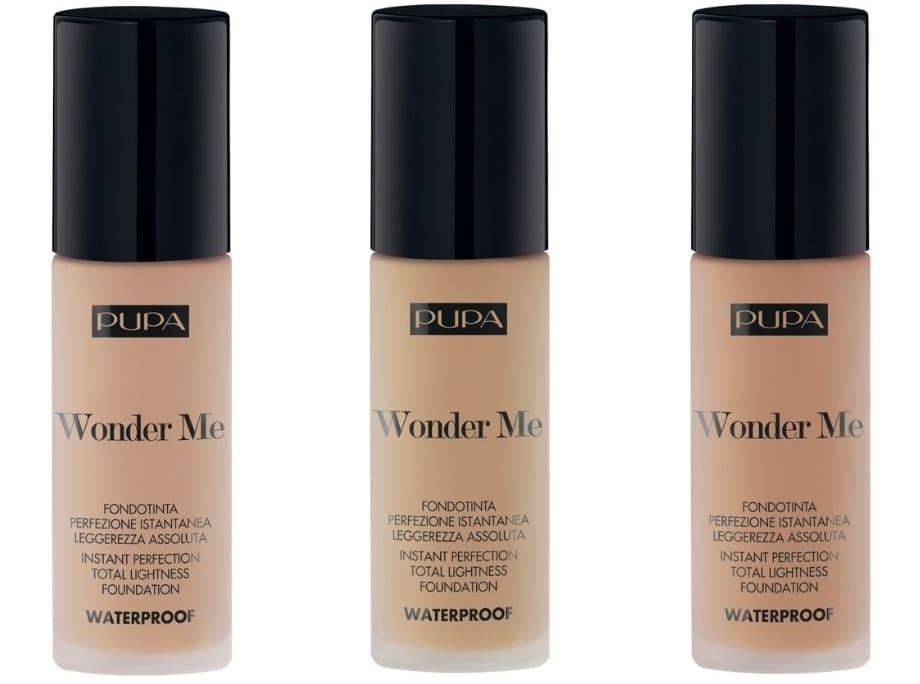 Wonder Me Pupa Make-Up colorazioni