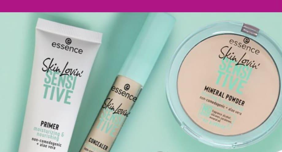 Skin Lovin' Sensitive Essence trucco pelli sensibili