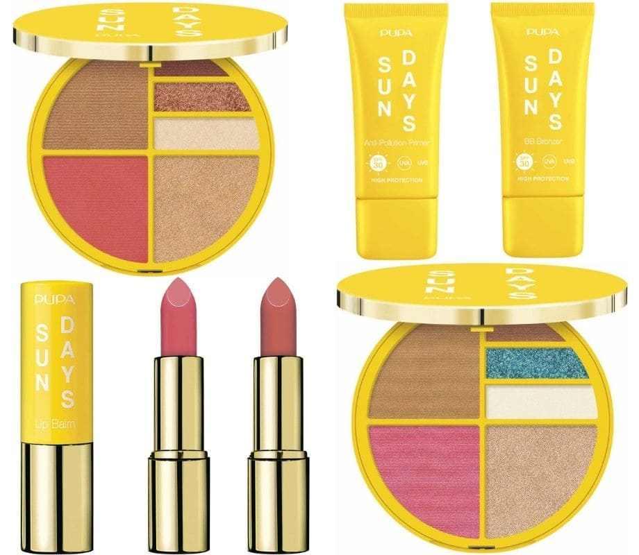 Sun Days Pupa Make-up