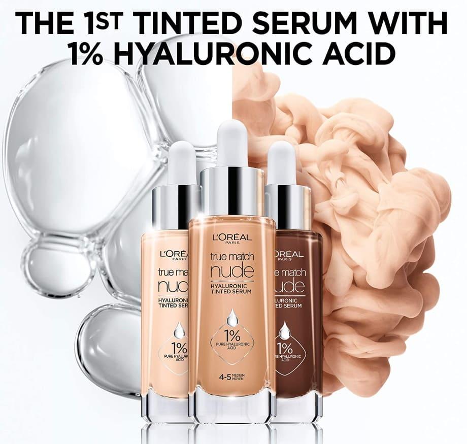 L'Oréal True Match Nude Hyaluronic Serum