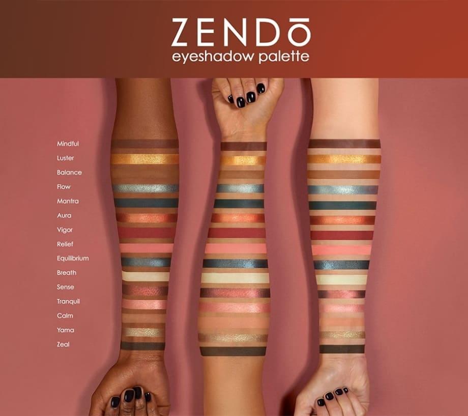 Nuova Zendo Palette ND swatches