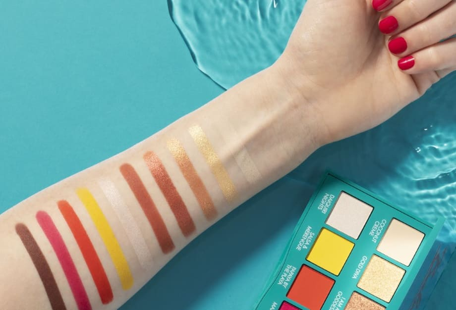 Swatches Palette Ombretti Baby K