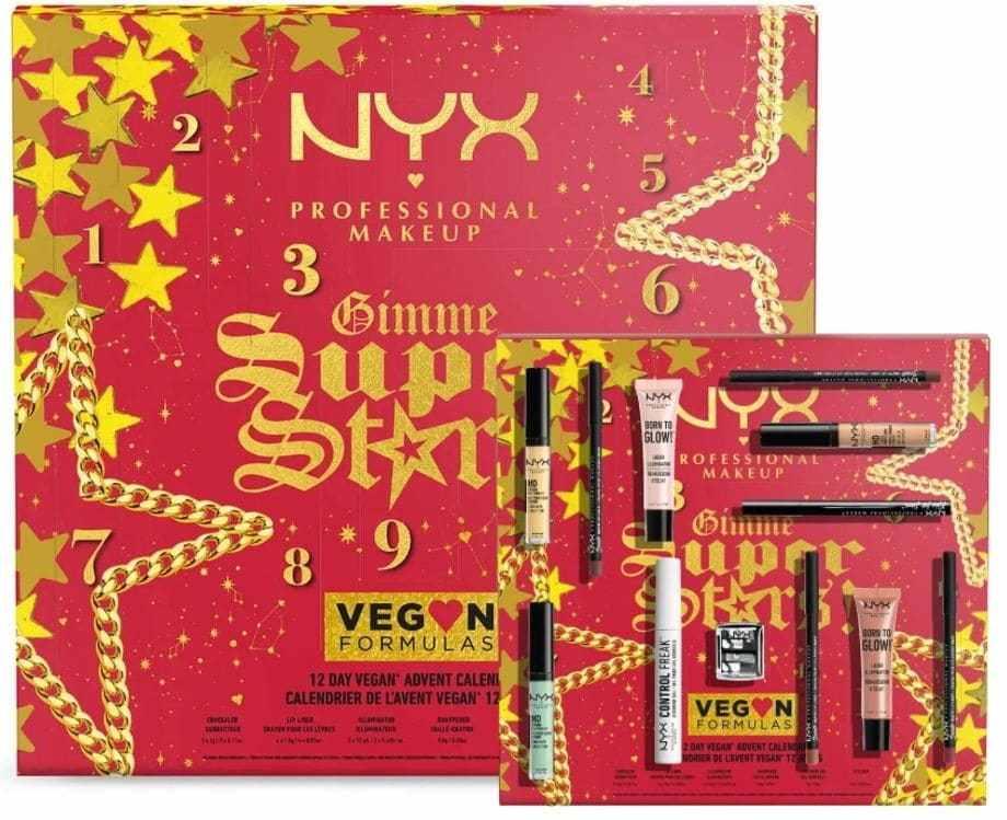 Calendari Avvento Beauty NYX 2021