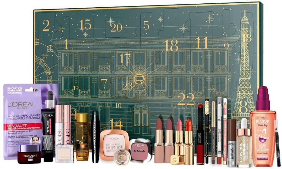 Calendario Avvento make-up L'Oréal Natale 2021