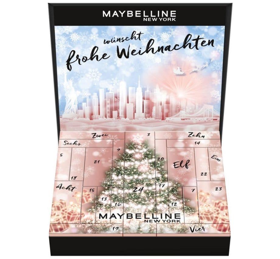 Maybelline Calendari Avvento Beauty Natale 2021