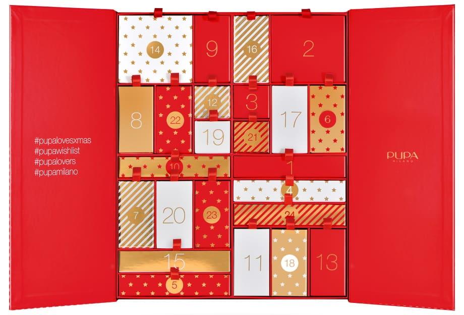 Pupa Calendario dell'Avvento Make Up Natale 2021
