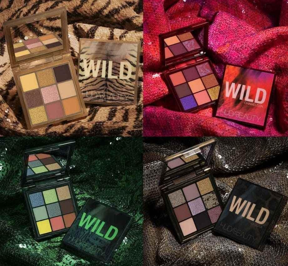 Wild Obsessions Palette Huda